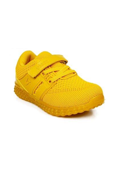 313.p20y.102 Patik Işıklı Sarı Çocuk Spor Ayakkabı