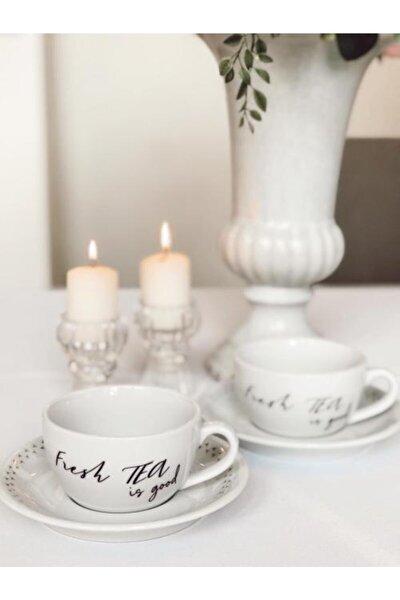 Porselen Fincan Takımı 2'li (Tea-tea)