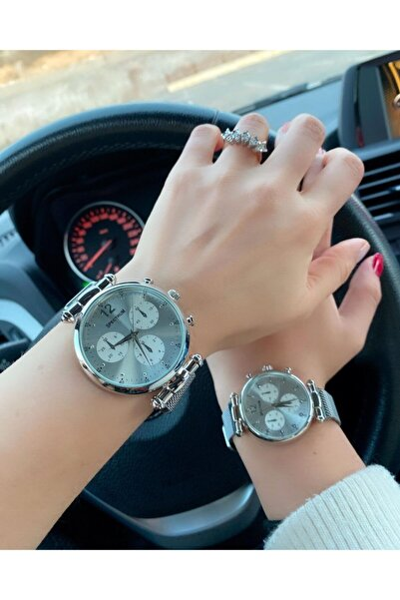 Unisex Çift Saatleri Sevgili Saatleri Analog Kol Saatleri