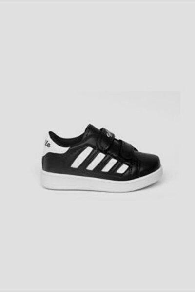 Terlikmodası Siyah Çocuk Spor Ayakkabısı