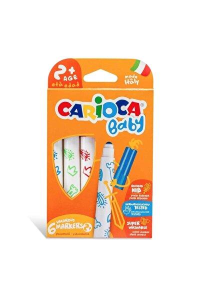 Baby Süper Yıkanabilir Jumbo Keçeli Boya Kalemi 6 Lı