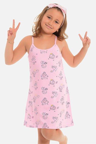 Kız Çocuk Ip Askılı Tunik