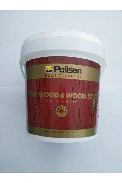 Wood & Wood Anti Agıng Ahşap Verniği Parlak Su Bazlı 0,75 Lt