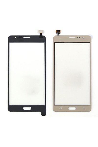 Samsung Galaxy G600 On7 Için Dokunmatik Lens + Filmli - Gold