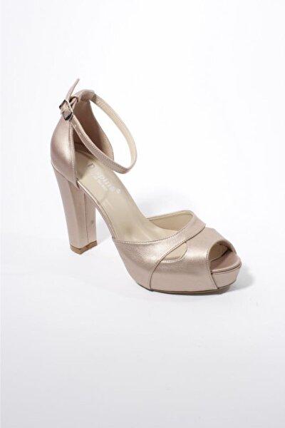 Bakır Kadın Abiye Ayakkabı