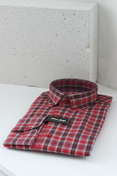 Yün Erkek Gömlek Oduncu Gömleği