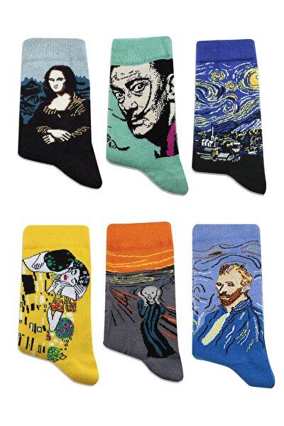 Dünya Klasikleri 6 'lı Çorap Seti