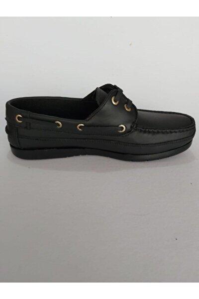 Tarzı Rahat , Siyah Bordo Klasik Ayakkabı