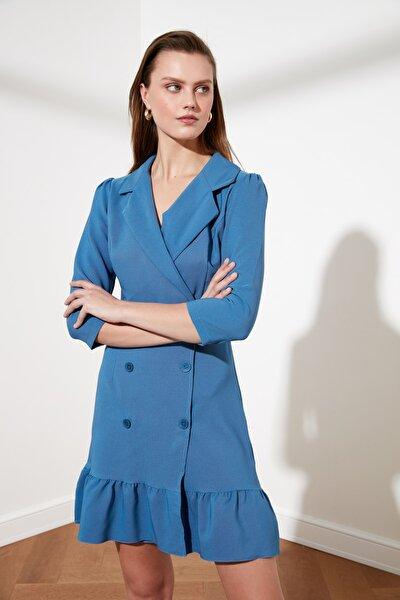 Mavi Ceket Elbise TWOSS20EL0407
