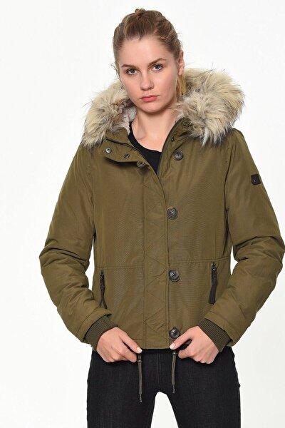 Onlpeyton Aw Short Fur Jacket Cc Otw Kadın Mont