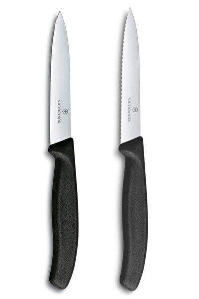 Victorinox Siyah  Bıçak Seti 2'li