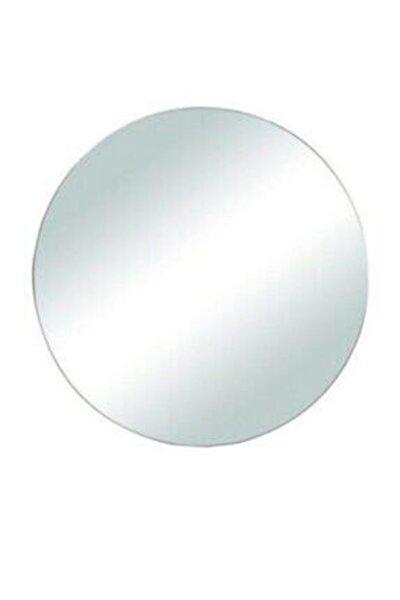 Gümüş Yuvarlak Ayna 20 cm