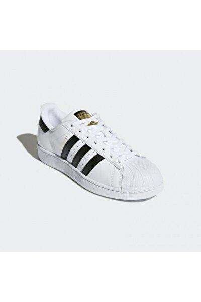Erkek Beyaz Superstar Originals Günlük Ayakkabı C77124