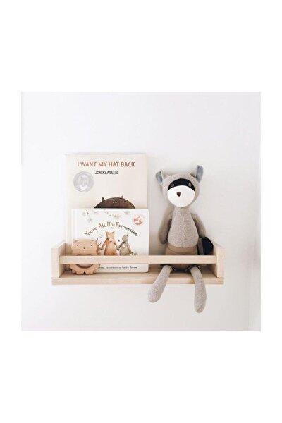 Montessori Kitaplık Ahşap Duvar Rafı 50 Cm 1 Adet