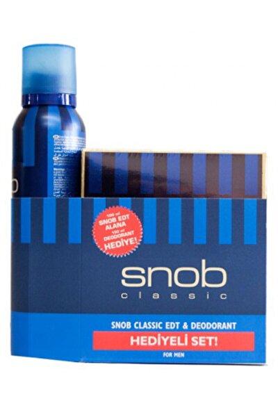 Classic Deodorant Hediyeli Erkek Parfüm Seti