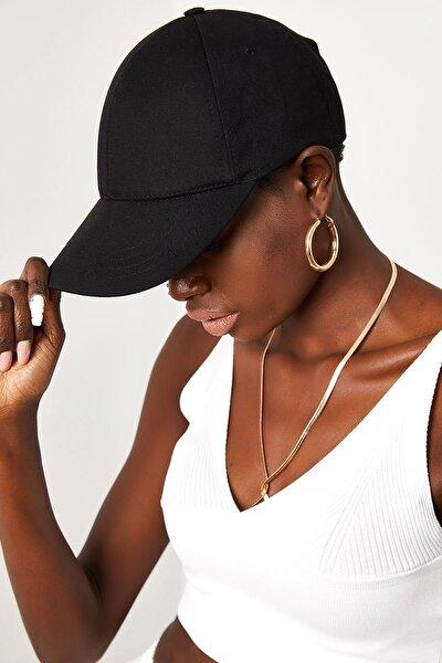 Kadın Siyah Şapka 1KZK9-11551-02