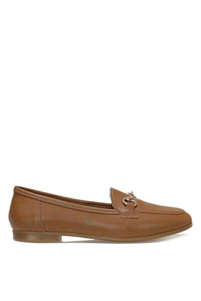 SIMA.Z 1FX Taba Kadın Loafer Ayakkabı 101033765