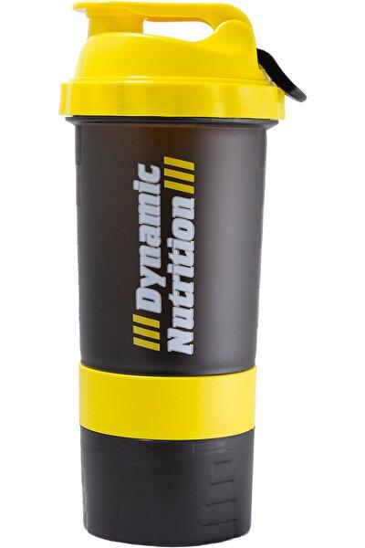 Siyah Sarı Dynamic 3 Hazneli Shaker