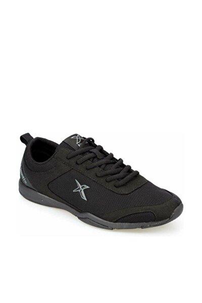 Erkek Siyah Bağcıklı Spor Ayakkabı Valez