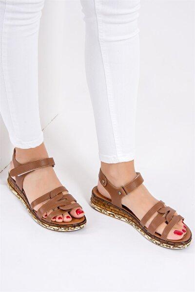 Kadın Taba Sandalet F288091109