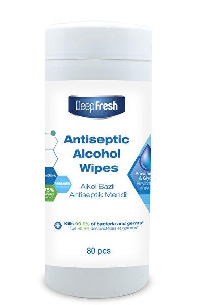 Alkollü Antiviral Kutulu Islak Mendil 80 Yaprak