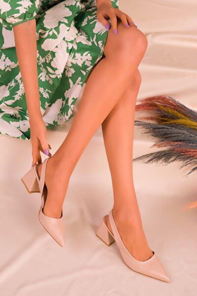 Ten Kadın Klasik Topuklu Ayakkabı 16142
