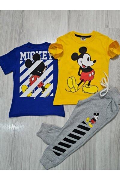 Çocuk Sırt Baskılı Mickey Takım.