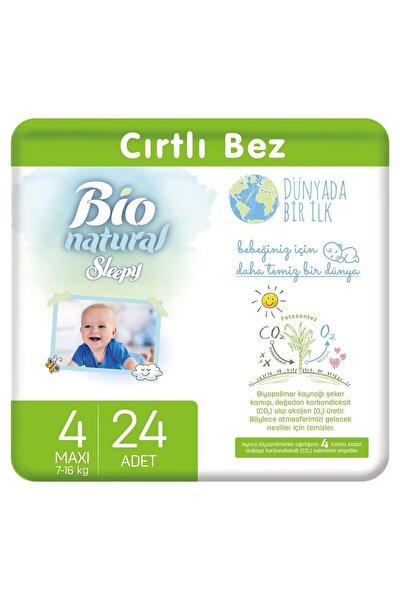 Bio Natural 4 Numara Maxi Bebek Bezi 24 Adet