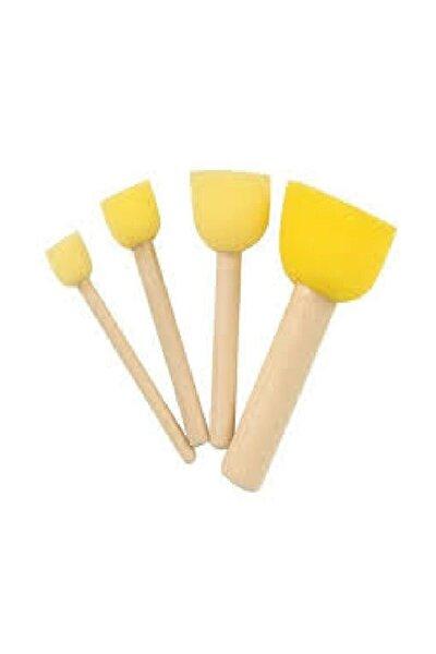 Sünger Tampon Fırça Seti 4'lü