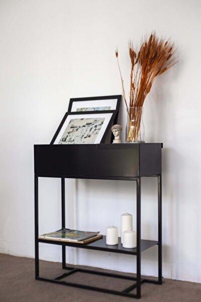 Hermes Mat Siyah Dresuar / Plantbox / Yan Sehpa