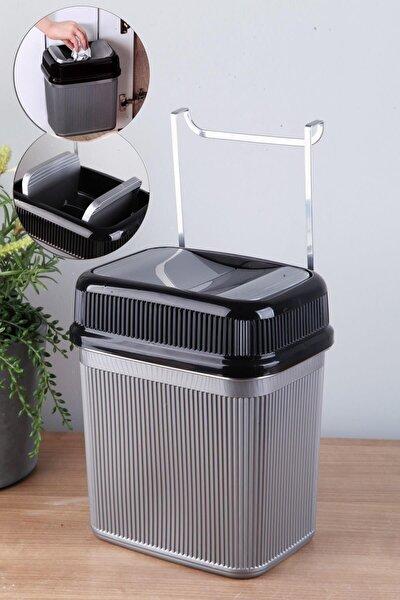 Çok Amaçlı Metal Askılı Tezgah Çöp Kovası