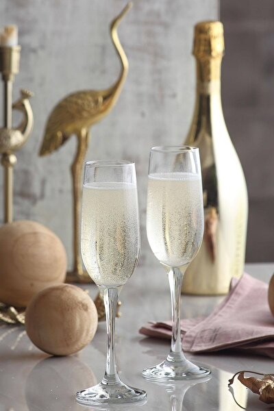 Fame 6 Parça Şampanya Kadehi