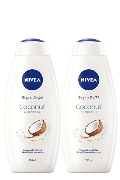 Coconut 750 ml Duş Jeli x2