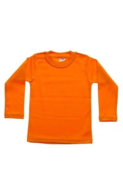 Çocuk Turuncu T-shirt & Body
