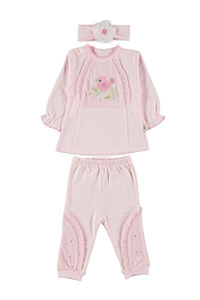 Kız Bebek Bandanalı Takım