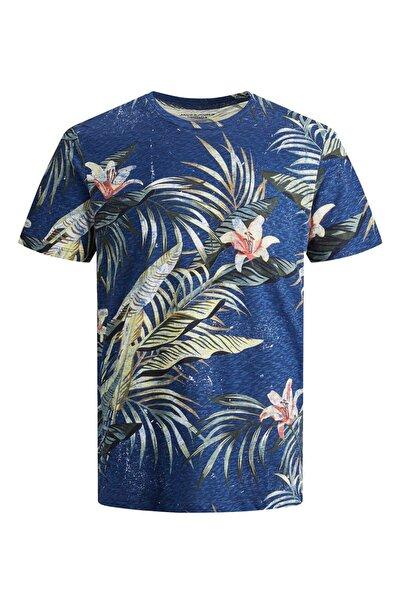 Erkek Lacivert Elı Organıc Tişört