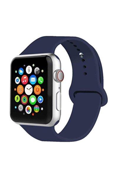 Apple Watch Kordon 2 3 4 5 6 Se Seri 38 Mm Ve 40 Mm Silikon Kordon Kayış