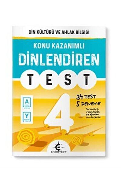 Eker 4. Sınıf Dinlendiren Test