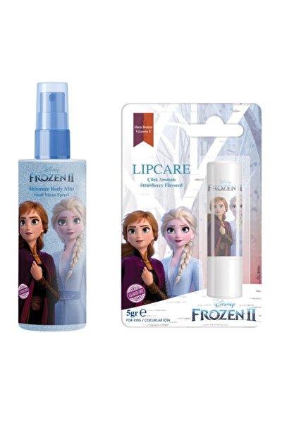 Kız Çocuk Frozen Elsa Body Mist + Elsa Lip Stick