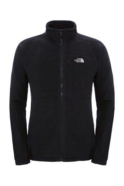 Erkek Siyah 200 Shadow Full Zip Sweatshirt