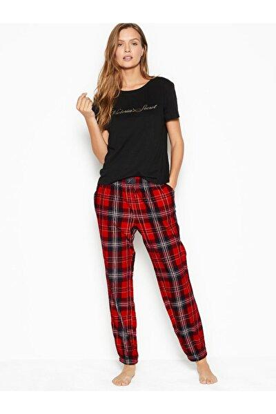 Pamuklu Flanel Pijama Takımı