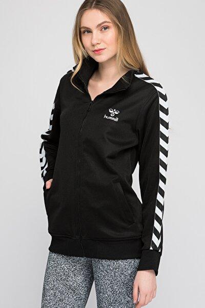 Kadın Siyah Sweatshirt Atlanta Zıp Jacket Aw16