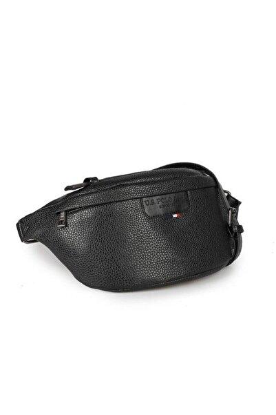 Unisex Siyah Bel Çantası Plevr9502