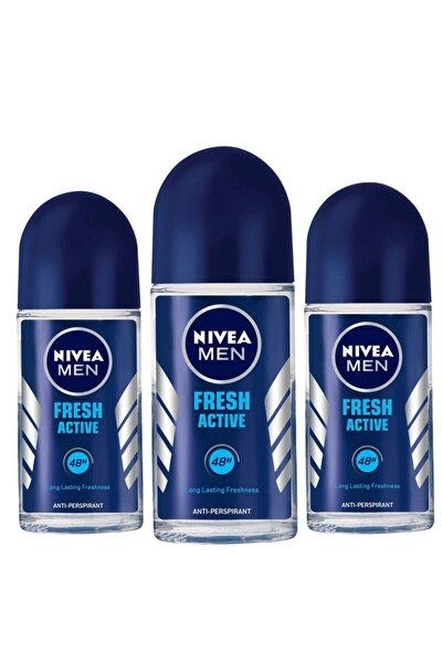 Men Fresh Active Roll-on 50 ml X3 Adet