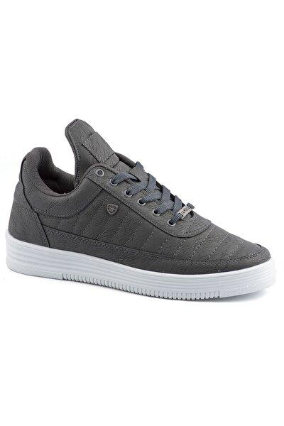 07 Füme Beyaz Dikişli Taban Unisex Spor Ayakkabı