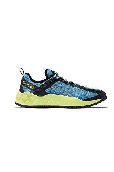 Erkek Mavi  Solar Wave Mesh Sneaker