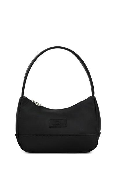 Kadın Siyah Baguette Çanta 197