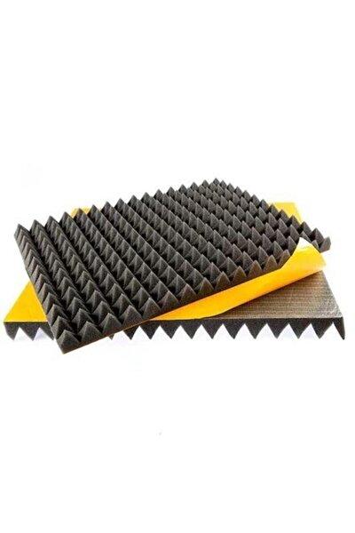 Kendinden Yapışkanlı Ses Yalıtm Akustik Piramit Süngeri  80 Dns 40mm 50x50