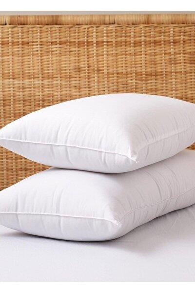 Beyaz Antialerjik Boncuk Slikon Yastık 1000 gr 2 Adet