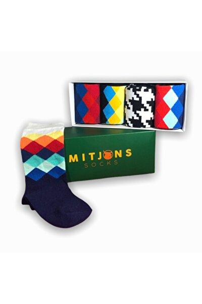 5'li Gökkuşağı Çorap Set